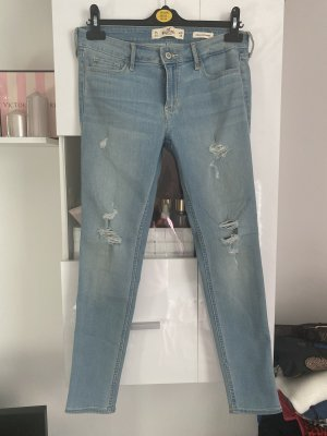 Hollister Jeans W28 L28 hellblau