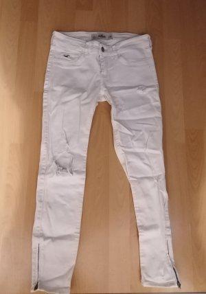 Hollister Jeans weiss Grösse 3/26