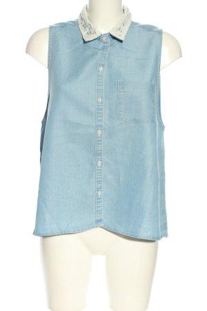 Hollister Camicia denim blu stile casual