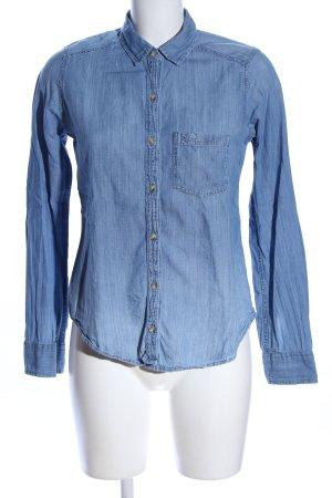 Hollister Jeansowa koszula niebieski W stylu casual
