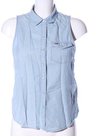 Hollister Denim Shirt blue casual look
