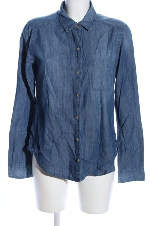 Hollister Jeanshemd blau Casual-Look