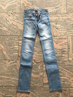 Hollister Jeansy z prostymi nogawkami niebieski