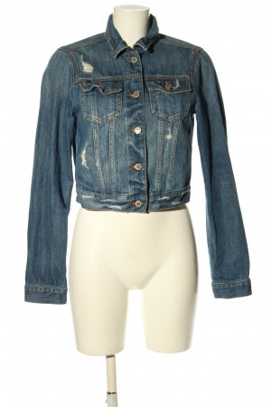 Hollister Jeansjacke blau Casual-Look