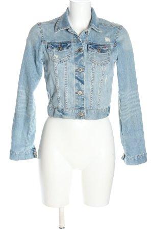 Hollister Jeansjacke blau Casual-Look