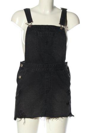 Hollister Jeansjurk zwart casual uitstraling