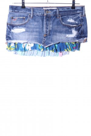 Hollister Denim Skirt blue casual look