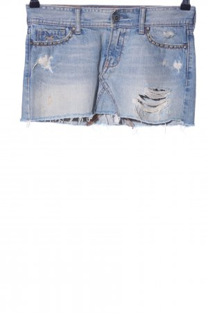 Hollister Jeansrock blau Casual-Look