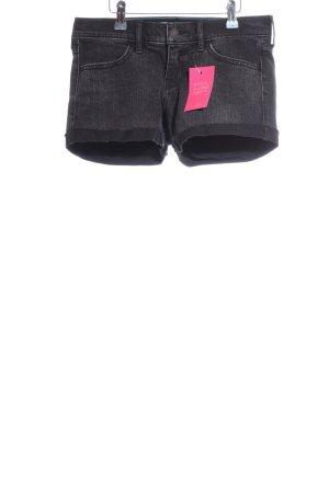 Hollister Jeansshorts schwarz Casual-Look