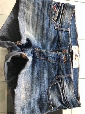 Hollister Short en jean bleu clair