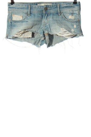 Hollister Jeansowe szorty niebieski W stylu casual