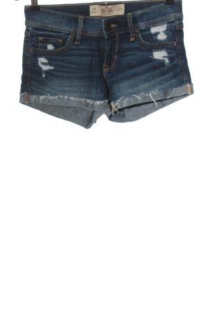 Hollister Jeansshorts blau Casual-Look