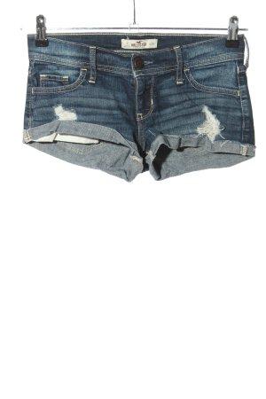 Hollister Pantaloncino di jeans blu stile casual
