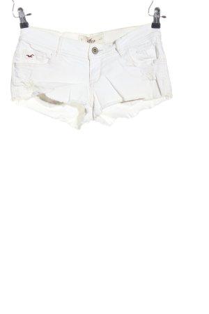 Hollister Jeansshorts weiß Street-Fashion-Look