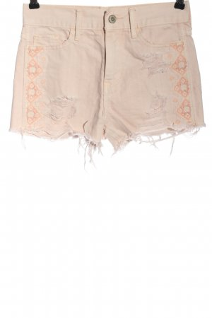 Hollister Jeansshorts creme-nude Casual-Look