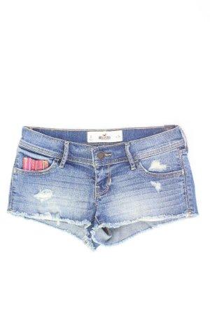 Hollister Jeansshorts Größe W24 neuwertig blau aus Baumwolle