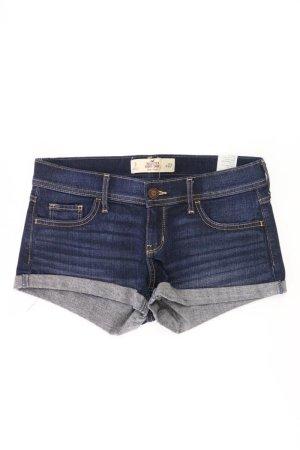 Hollister Jeansshorts Größe W27 blau aus Baumwolle