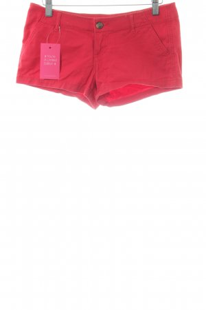 Hollister Jeansshorts hellrot Casual-Look