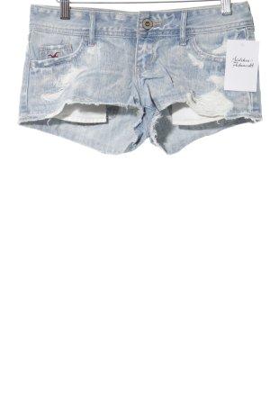 Hollister Jeansshorts kornblumenblau Casual-Look
