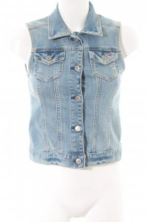 Hollister Jeansweste blau Casual-Look
