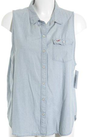 Hollister Jeansweste himmelblau Casual-Look