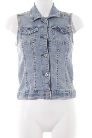 Hollister Jeansweste kornblumenblau