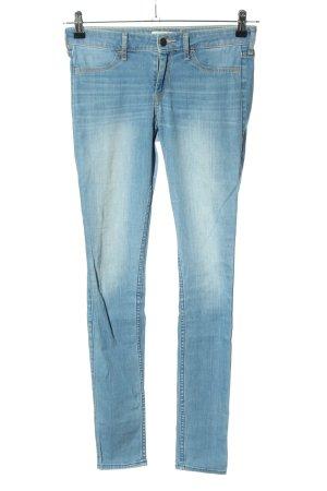 Hollister Jeggings blau Casual-Look