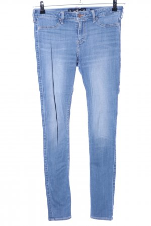 Hollister Jeggings blu stile casual
