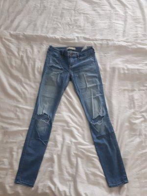 Hollister Jeggings low-rise, destroyed, 1R