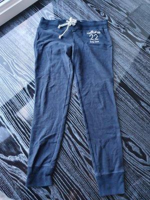 Hollister Spodnie sportowe ciemnoniebieski Bawełna