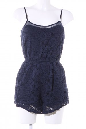 Hollister Jumpsuit blau Allover-Druck Casual-Look