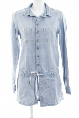 Hollister Jumpsuit blassblau Casual-Look