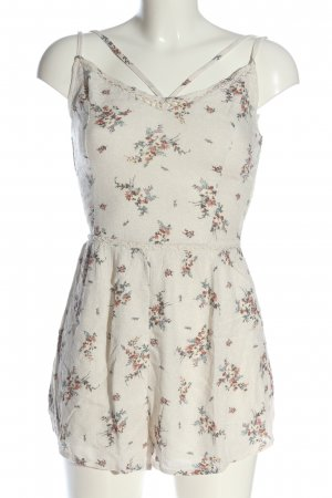 Hollister Jumpsuit white allover print casual look