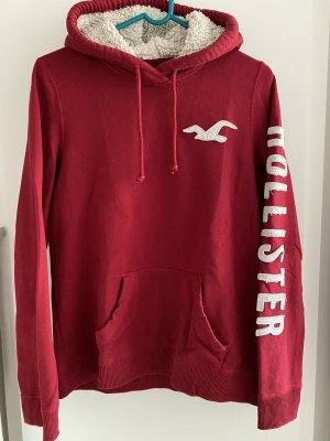 Hollister Capuchon sweater rood
