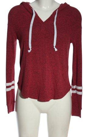 Hollister Sweter z kapturem Melanżowy W stylu casual