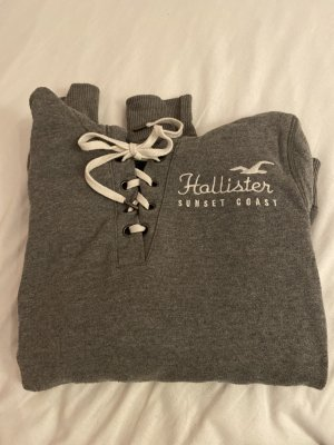 Hollister Maglione con cappuccio grigio