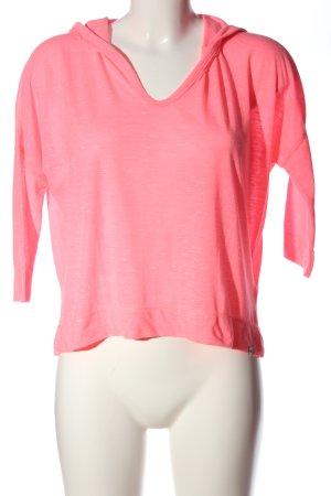 Hollister Top à capuche rose style décontracté