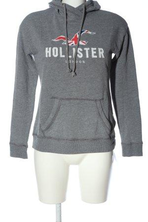 Hollister Kapuzensweatshirt Schriftzug gedruckt Casual-Look