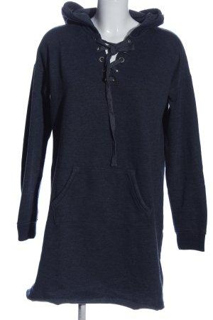 Hollister Kapuzensweatshirt blau meliert Casual-Look