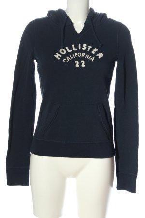 Hollister Kapuzensweatshirt blau Casual-Look