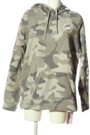 Hollister Kapuzensweatshirt Camouflagemuster Casual-Look
