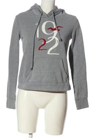 Hollister Kapuzensweatshirt meliert Casual-Look