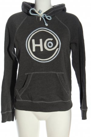 Hollister Kapuzensweatshirt hellgrau Casual-Look