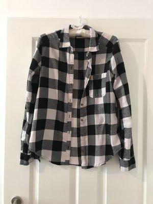 Hollister Lumberjack Shirt black-white