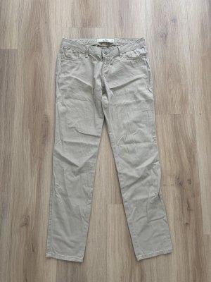 Hollister Spodnie khaki beżowy
