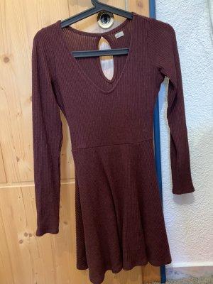Hollister Gebreide jurk veelkleurig