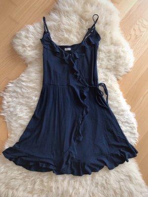 Hollister Kleid dunkel blau S