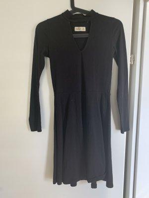 Hollister Robe à manches longues noir