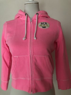 Hollister: knallpinker Sweater