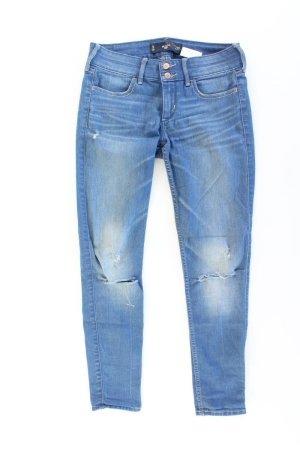 Hollister Knöchellange Jeans Größe W27 blau